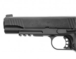 Wiatrówka CyberGun Swiss Arms SA 1911 Blow Back 4,5mm